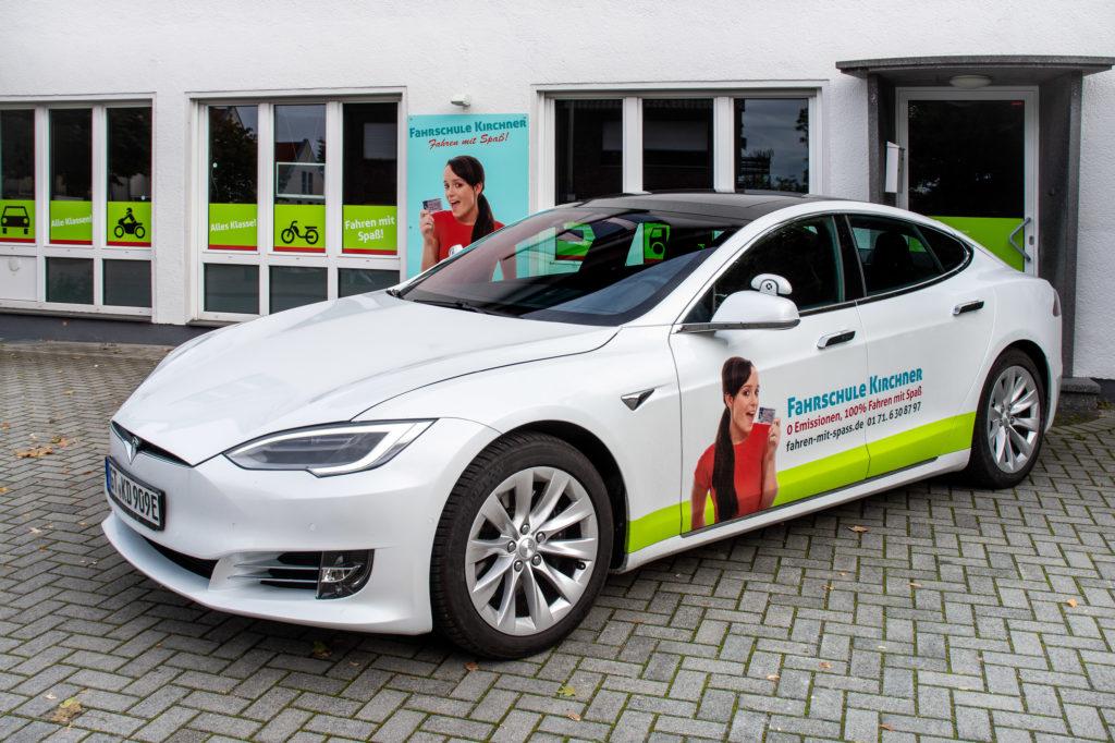 Fahrschule Kirchner Tesla Model S